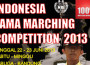 JADWAL ACARA TAMA MARCHING COMPETITION 2013