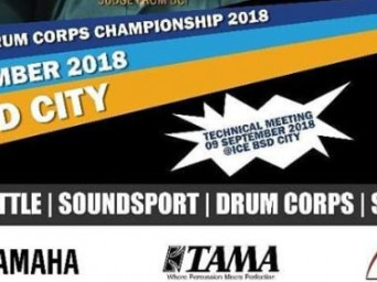 IDCC 2018 : BJB Indonesia Drum Corps Championship 2018 15-18 November