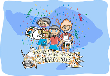 balimarchingcampria2013