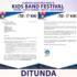 Kids Band Festival ke XV tahun 2020 DITUNDA.