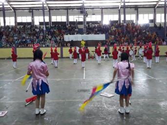 Lomba Marching Band Sepulau Jawa di Ciamis